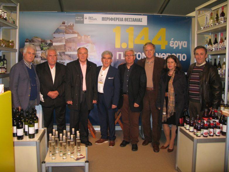Επιτυχημένη η παρουσία της Περιφέρειας Θεσσαλίας στην 11η Πανελλήνια Έκθεση για τη Γεωργία και τη Κτηνοτροφία AgroThessaly