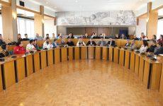 Συνάντηση εθελοντικών ομάδων στην αίθουσα του Περιφερειακού Συμβουλίου Θεσσαλίας για τη διοργάνωση του Let's do it Greece 2017
