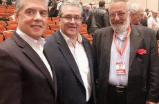 Ο πρόεδρος της Ένωσης Περιφερειών Κ. Αγοραστός στο 20ο συνέδριο του ΚΚΕ