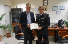 Γραφική ύλη και ασυρμάτους πρόσφερε εταιρεία στη Διεύθυνση Αστυνομίας Μαγνησίας