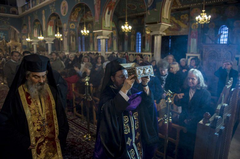 Έλευση Ιερών Λειψάνων Αγίου Ραφαήλ, Νικολάου και Ειρήνης στην Ανάληψη