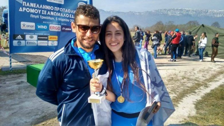 Nέα νίκη της Φλώρου στο πρωτάθλημα σε ανώμαλο έδαφος στα Τρίκαλα