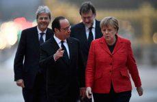 Υπέρ μιας Ευρώπης πολλών ταχυτήτων τάσσονται οι ηγέτες των 4 ισχυρότερων χωρών