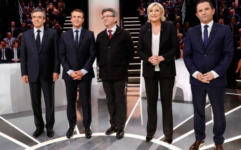 Γαλλία-Προεδρικές εκλογές: Μακρόν «ψήφισαν» οι τηλεθεατές στο πρώτο ντιμπέιτ