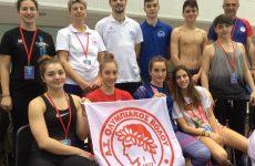 Με 25  μετάλλια αποχαιρετούν το 2017 οι ομάδες κολύμβησης του Ολυμπιακού Βόλου