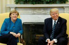 Στον Λευκό Οίκο η Άγκελα Μέρκελ