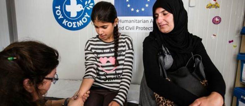 Στήριξη έκτακτης ανάγκης της ΕΕ για πρόσφυγες και μετανάστες στην Ελλάδα: 1 χρόνος δράσεων