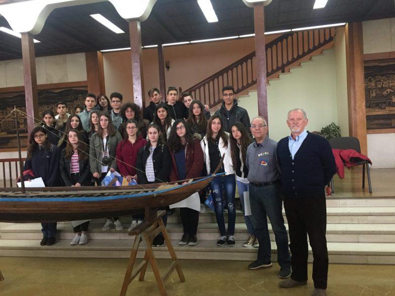 Tην Αργώ γνώρισαν σήμερα οι μαθητές και μαθήτριες του Μουσικού σχολείου Λευκάδας