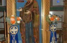 Υποδοχή Ιεράς Εικόνος Παναγίας Γεροντίσσης στον Ναό του Αγίου Κωνσταντίνου