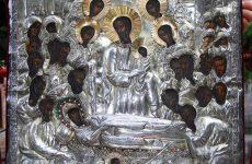 Υποδοχή Ιεράς Εικόνος Παναγίας Άνω Ξενιάς στον Ναό  Αγίων Κωνσταντίνου& Ελένης