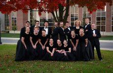 H Dr. JoAnn K. Rediger και η χορωδία του πανεπιστημίου Taylor  στο Βόλο