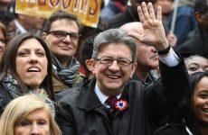 Η Ζωή Κωνσταντοπούλου μαζί με τον Jean Luc Melenchon στην μεγάλη πορεία του Παρισιού