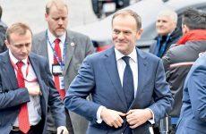 Στο «τιμόνι» της Ε.Ε. ξανά ο Τουσκ
