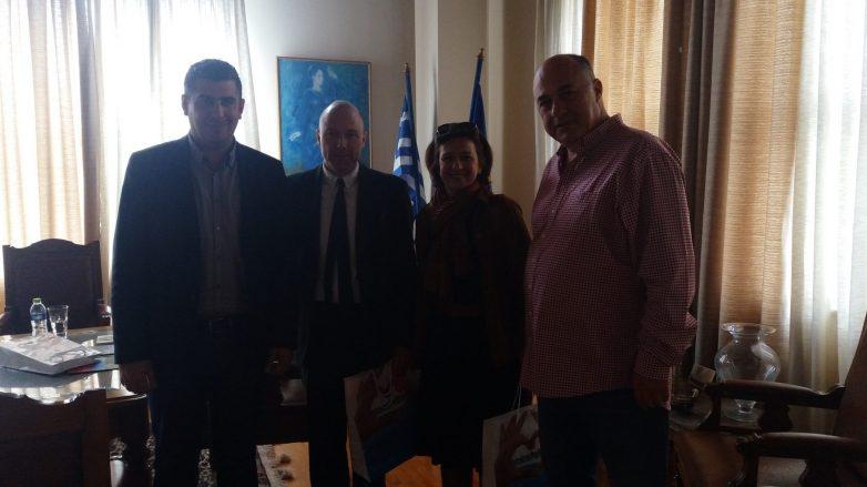Συνάντηση δημοτικής αρχής Βόλου με τον Τσέχο πρέσβη
