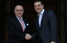 Συνάντηση Τσίπρα-Καζνέβ: «Η Ελλάδα θα βγει πιο δυνατή από την κρίση»