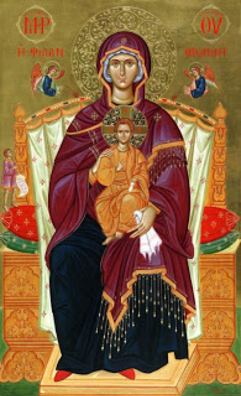 Η Ιερά Εικόνα της Παναγίας Φιλανθρωπινής από το Άγιον Όρος στην Ευξεινούπολη