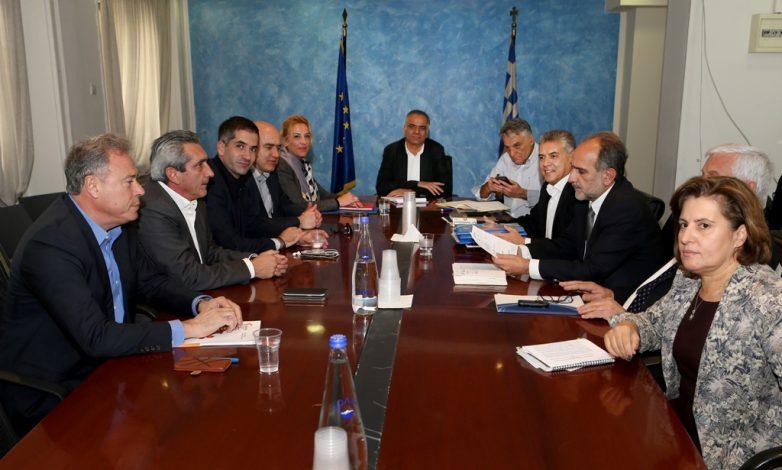 Με τον υπουργό Εσωτερικών Π. Σκουρλέτη συναντάται η Ένωση Περιφερειών τη Μεγάλη Δευτέρα