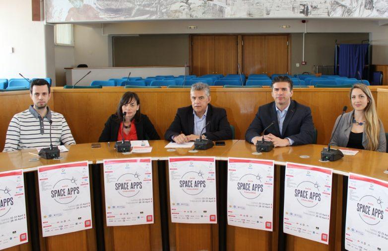 Διεθνής διαστημικός διαγωνισμός της ΝΑSA στη Λάρισα