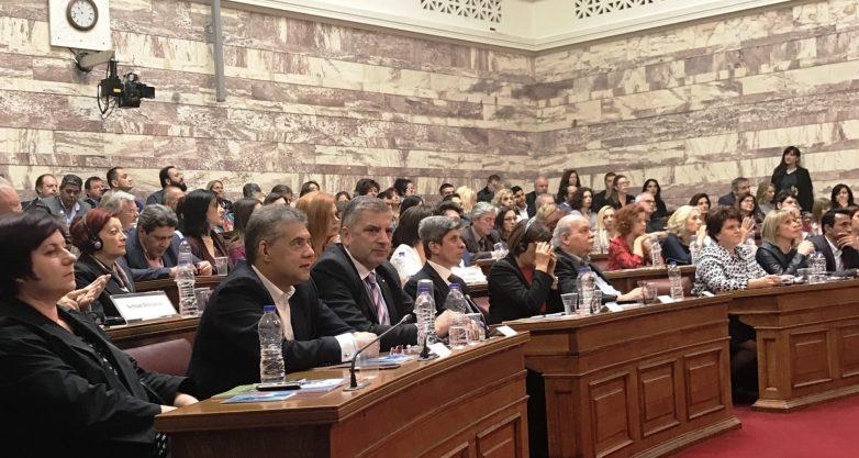 Στη Βουλή για την Παγκόσμια Ημέρα  Ρομά  ο πρόεδρος της ΕΝΠΕ Κ. Αγοραστός