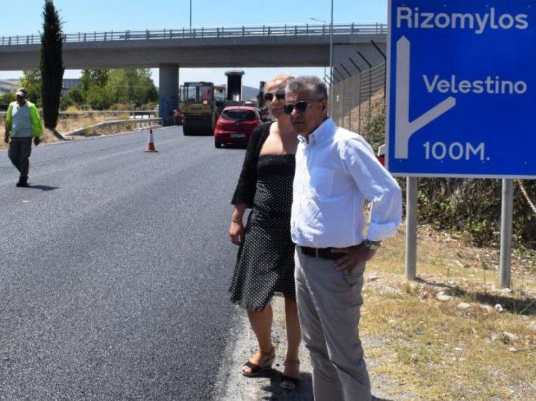 Συντηρεί το οδικό δίκτυο της Μαγνησίας η Περιφέρεια Θεσσαλίας