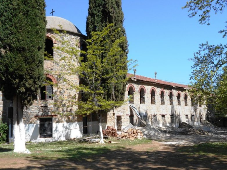 Προχωρούν τα έργα αναστήλωσης της Παλαιάς Ιεράς Μονής Ξενιάς