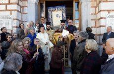 Εορτάστηκε η Σύναξη της Ι.Εικόνος της Παναγίας Βηματαρίσσης στο Βόλο