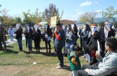 Διαμαρτυρία σήμερα στην παιδική χαρά του Αγ. Κωνσταντίνου