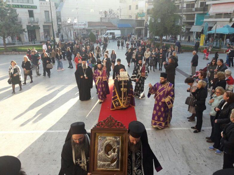 Από τα Μετέωρα στο Βόλο τα «Άχραντα Πάθη» του Κυρίου