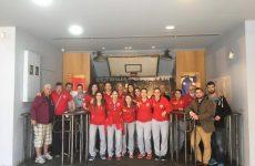 Το  μουσείο μπάσκετ της ΧΑΝΘ επισκέφθηκαν οι πρωταθλήτριες του Ολυμπιακού Βόλου