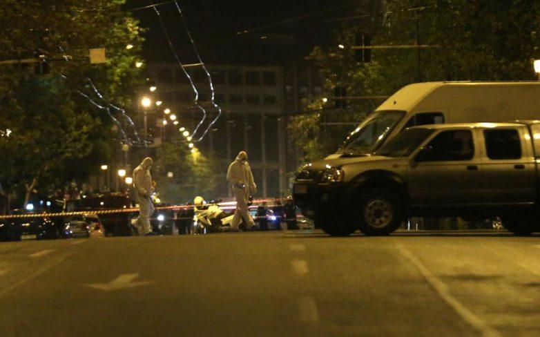 Αθήνα: Έκρηξη στη Eurobank