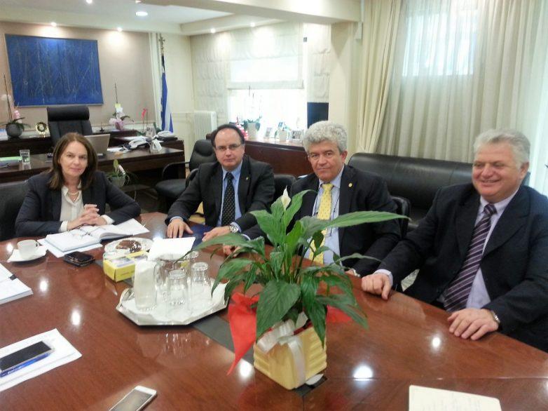 Καταλυτικής σημασίας η συνάντηση  Επιμελητηρίου Μαγνησίας-υφυπουργού Οικονομικών Κατερίνας Παπανάτσιου