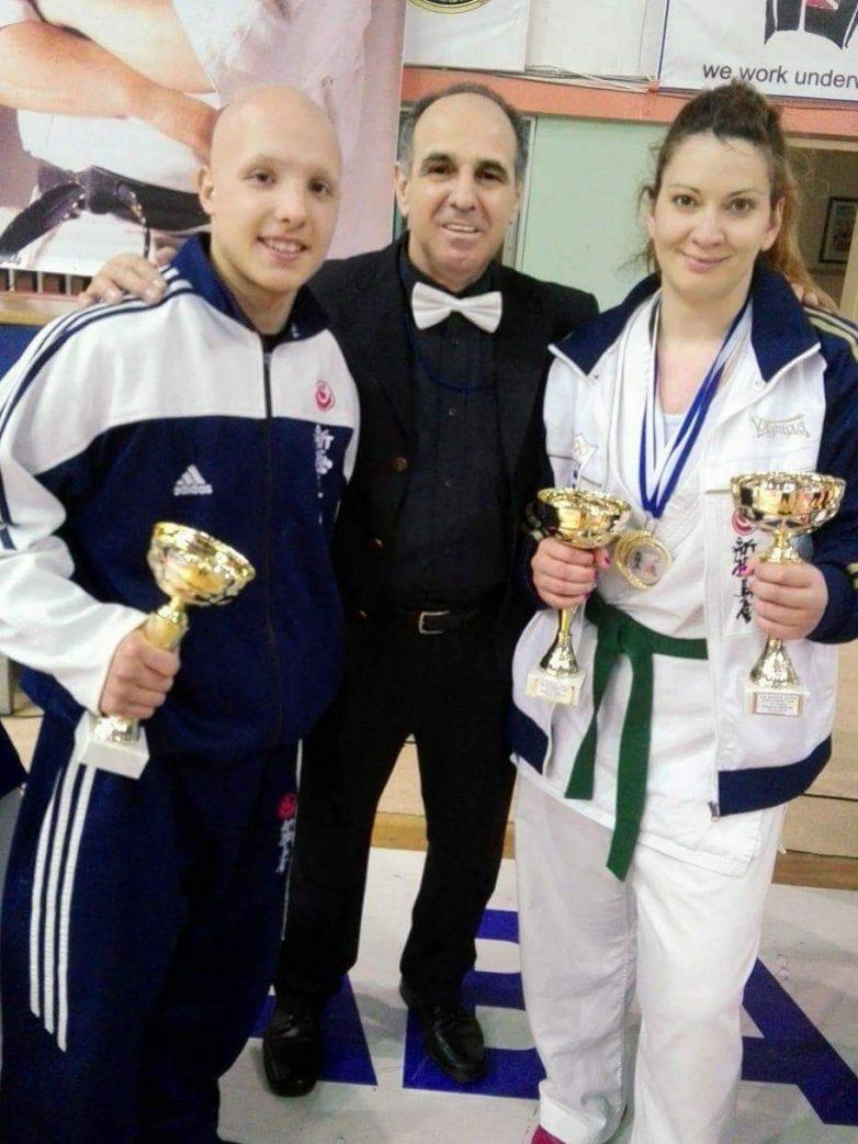 Δύο μετάλλια  και δύο τιμητικές διακρίσεις στο 3ο Διεθνές Τουρνουά Greek Open Challenge στην Καβάλα