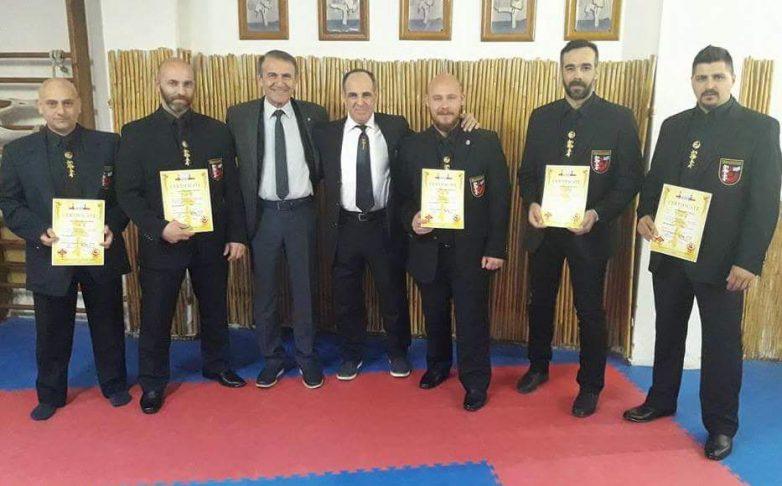 Πέντε νέοι Ευρωπαϊκοί Κριτές του Ελληνικού Shinkyokushikai Karate