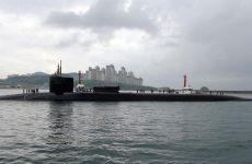 Αμερικανικό πυρηνοκίνητο υποβρύχιο στην Κορεατική Χερσόνησο