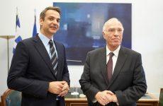 Μητσοτάκης – Λεβέντης υπέρ ενός εθνικού σχέδιου μεταρρυθμίσεων
