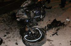 Φωτιά σε μοτοσικλέτα στη Ν. Ιωνία τα ξημερώματα