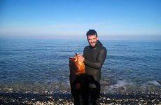 Εντοπίστηκε  στην  Εύβοια η σορός του άτυχου Πηλιορείτη ψαροντουφεκά Δημήτρη Παπανικολάου