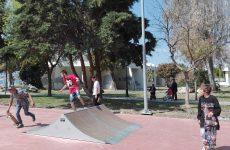 Εγκαινιάστηκε σήμερα το skate park στο πάρκο Αναύρου