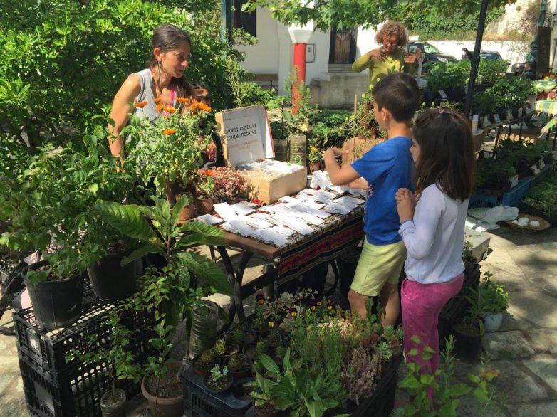 Γιορτή Παραδοσιακού Σπόρου και Οικολογικού Κήπου-μπαξέ στις Σταγιάτες Πηλίου