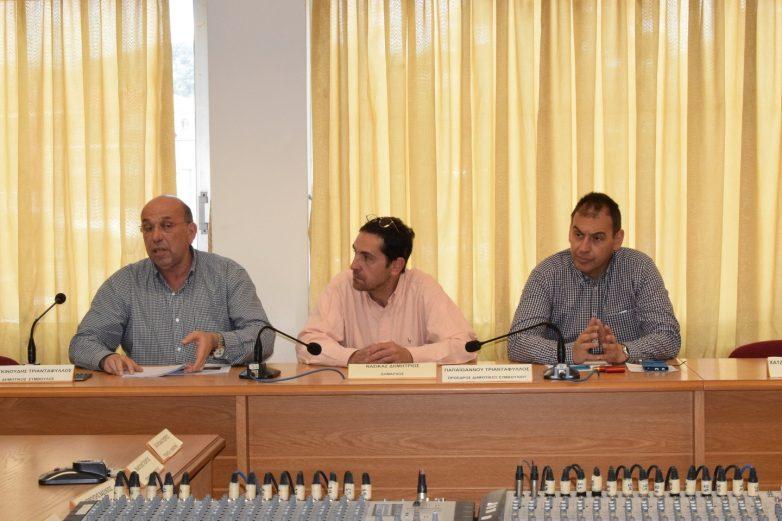 Συνεδρίαση  Σ.Τ.Ο.  δήμου Ρήγα Φεραίου