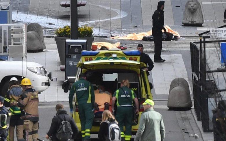 Στοκχόλμη: Φορτηγό έπεσε σε πεζούς σε εμπορικό κατάστημα – τουλάχιστον 3 νεκροί