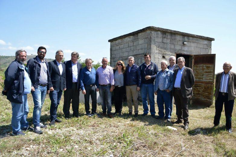 Σύγχρονο δίκτυο υπόγειων αγωγών άρδευσης απέκτησε η Βασιλική Καλαμπάκας