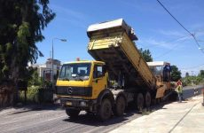 Ασφαλτικές εργασίες σε οδικά τμήματα του Δήμου Νοτίου Πηλίου