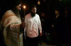 Νέος μοναχός στην Μονή Παναγίας Άνω Ξενιάς