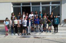 Επίσκεψη μαθητών 31ου δημοτικού σχολείου Βόλου στο Ν. Ο. Β-Α