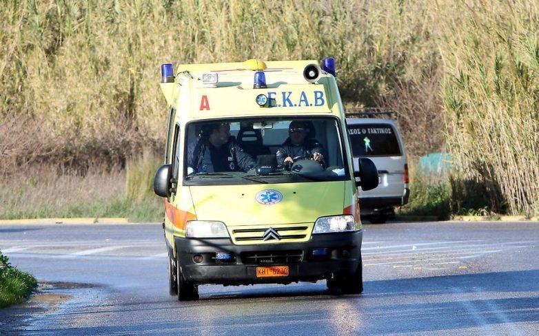 Τροχαίο ατύχημα στην Μπουρμπουλήθρα