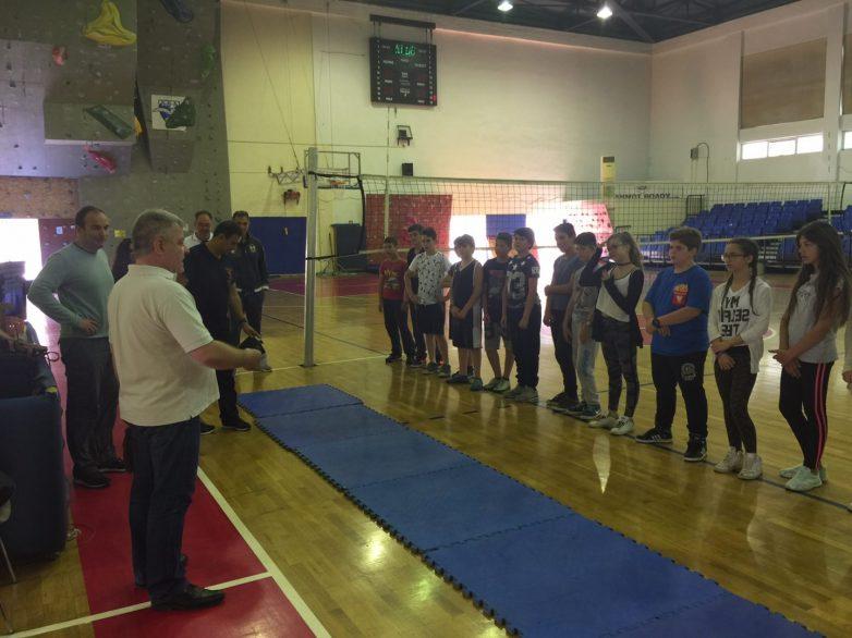 Σε επαφή με Oλυμπιακά αθλήματα μαθητές της Περιφέρειας