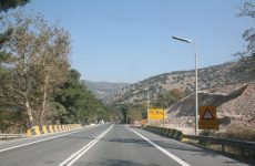 Διακοπή κυκλοφορίας στην εθνική οδό Θεσσαλονίκης- Αθηνών από Λεπτοκαρυά έως Πλαταμώνα