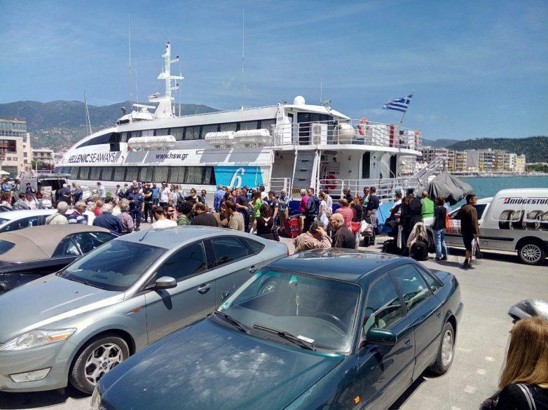 Υποτονική φέτος η κίνηση στο λιμάνι του Βόλου