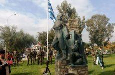 Μνημεία το Ηρώο Μάχης και το Ηρώο πεσόντων στο Βόλο